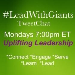 LeadWithGiants Tweetchat